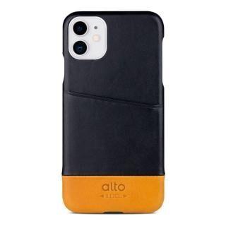 iPhone 11 ケース alto Metro レザーケース レイヴン/キャラメル iPhone 11