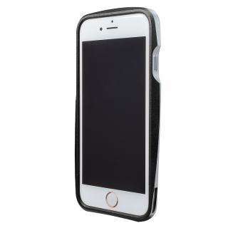 97054d9914 iPhone6s/6 ケース GRAMAS ラウンドメタルバンパー ブラック iPhone 6s/6