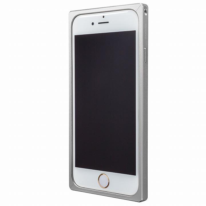 【iPhone6s/6ケース】GRAMAS ストレートメタルバンパー シルバー iPhone 6s/6_0
