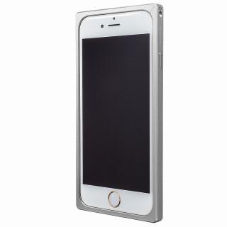 【iPhone6s/6ケース】GRAMAS ストレートメタルバンパー シルバー iPhone 6s/6