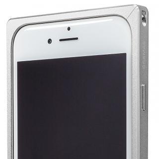 【iPhone6s/6ケース】GRAMAS ストレートメタルバンパー シルバー iPhone 6s/6_6