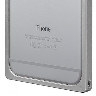 【iPhone6s/6ケース】GRAMAS ストレートメタルバンパー シルバー iPhone 6s/6_7