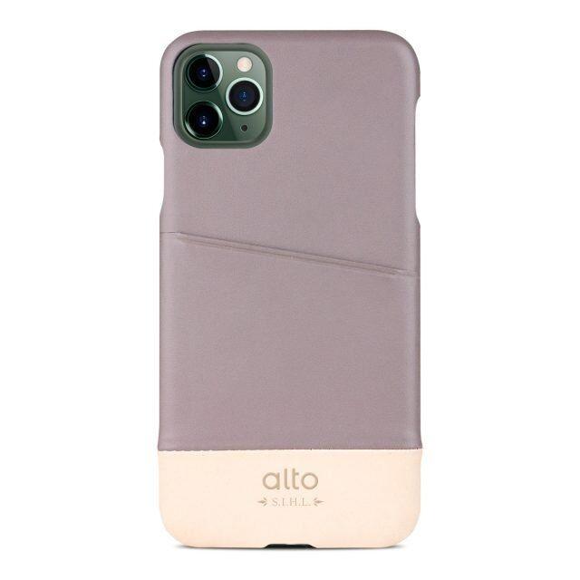 iPhone 11 Pro ケース alto Metro レザーケース セメント/オリジナル iPhone 11 Pro_0
