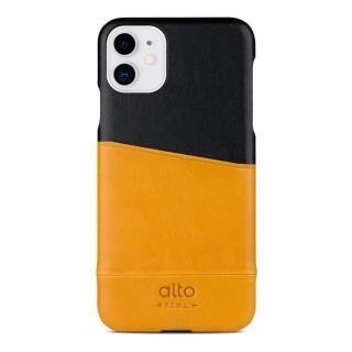iPhone 11 ケース alto Metro レザーケース キャラメル/レイヴン iPhone 11