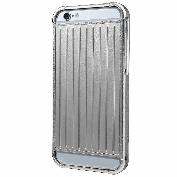 iPhone6s/6 ケース GRAMAS フルメタルケース シルバー iPhone 6s/6_0