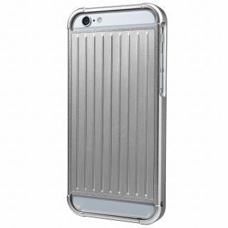 GRAMAS フルメタルケース シルバー iPhone 6s/6