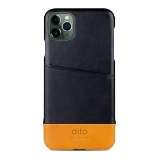 iPhone 11 Pro ケース alto Metro レザーケース レイヴン/キャラメル iPhone 11 Pro