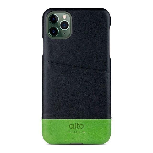 iPhone 11 Pro ケース alto Metro レザーケース レイヴン/ライム iPhone 11 Pro_0