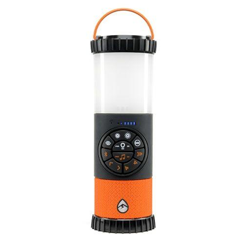 360度 全方位スピーカー コンパクトでタフなLEDランタン IP67防塵防水 Bluetoothスピーカー「エコランタン 」_0