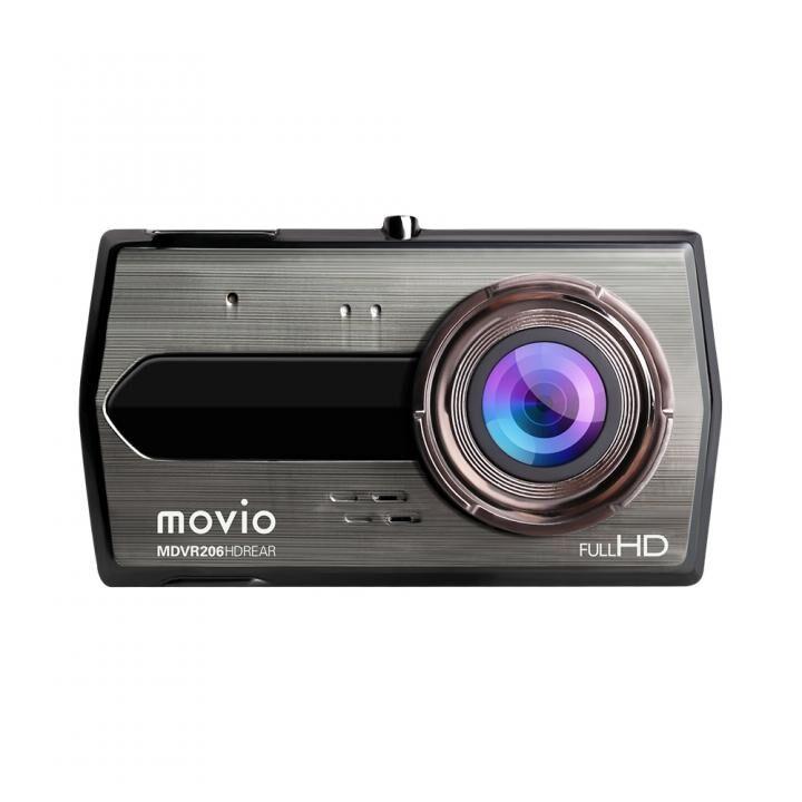 movio 高画質HDリアカメラ搭載 前後2カメラ ドライブレコーダー_0
