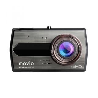 movio 高画質HDリアカメラ搭載 前後2カメラ ドライブレコーダー
