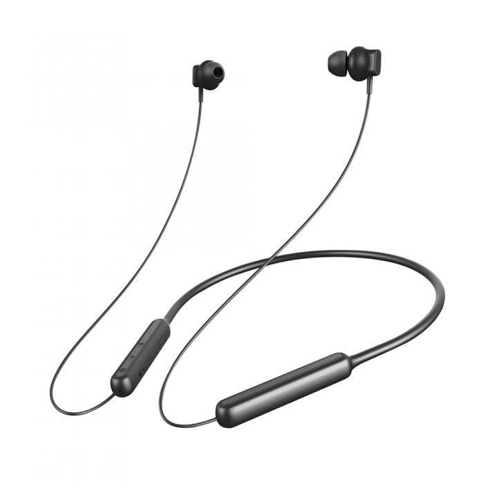 Premium Style Bluetooth 4.1搭載 ワイヤレス ステレオ イヤホン ネックバンドスタイル ブラック_0