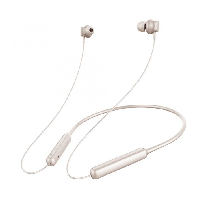 Premium Style Bluetooth 4.1搭載 ワイヤレス ステレオ イヤホン ネックバンドスタイル マットゴールド_0