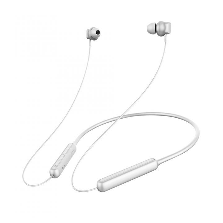 Premium Style Bluetooth 4.1搭載 ワイヤレス ステレオ イヤホン ネックバンドスタイル マットシルバー_0