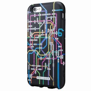 ICカード対応 2重構造ケース PRECISION 東京路線(ブラック) iPhone 6