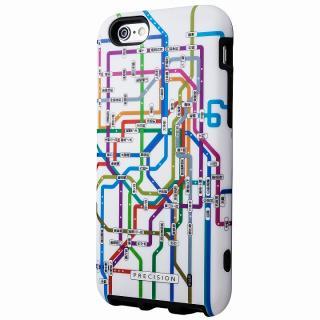 ICカード対応 2重構造ケース PRECISION 東京路線(ホワイト) iPhone 6