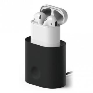elago CHARGING STATION for AirPods Black