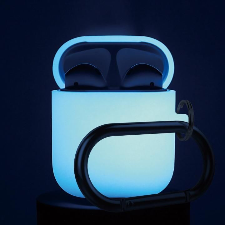 elago AIRPODS HANG CASE for AirPods Nightglow Blue_0