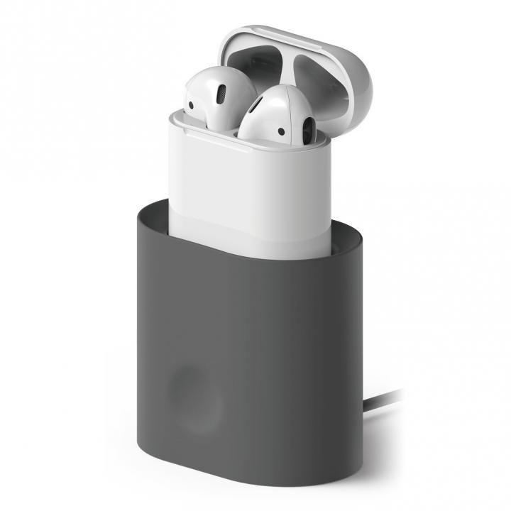 elago CHARGING STATION for AirPods Dark Gray_0