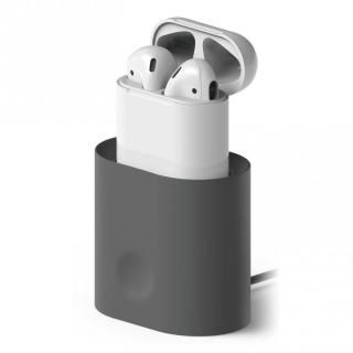 elago CHARGING STATION for AirPods Dark Gray