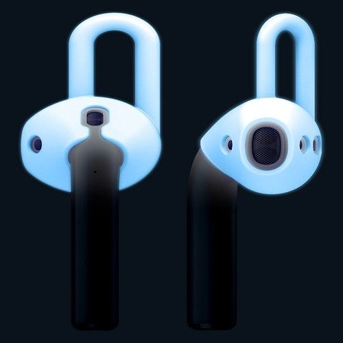 elago AirPods Ear Pads for AirPods Nightglow Blue_0
