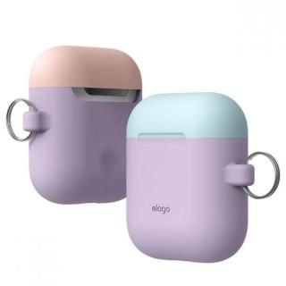 elago AIRPODS DUO HANG CASE for AirPods Lavender【12月下旬】