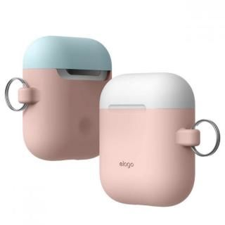 elago AIRPODS DUO HANG CASE for AirPods Pink