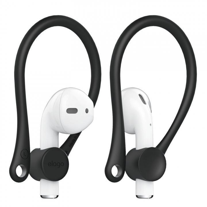 elago Ear Hook for AirPods Black_0