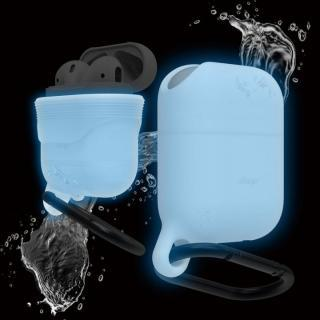 elago AirPods WaterProof Hang Case for AirPods Nightglow Blue