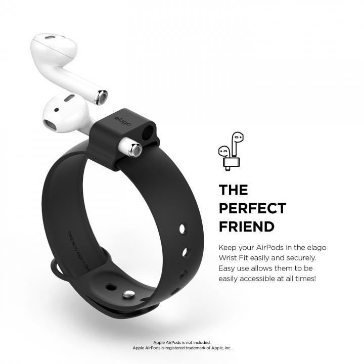 elago Wrist Fit for AirPods Black_0