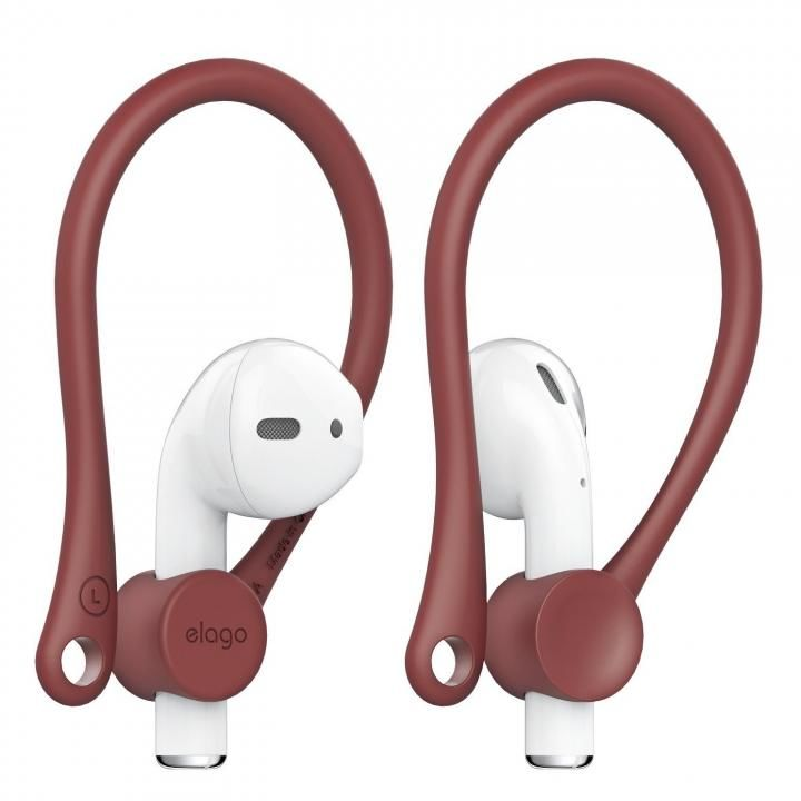 elago Ear Hook for AirPods Red_0