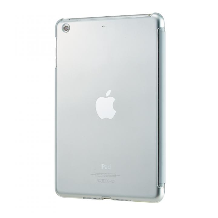 iPad mini/2/3対応 抗菌スマートバックカバー(クリア)_0