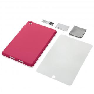 iPad mini/2/3対応 スマートカバー対応 シリコンケース ピンク