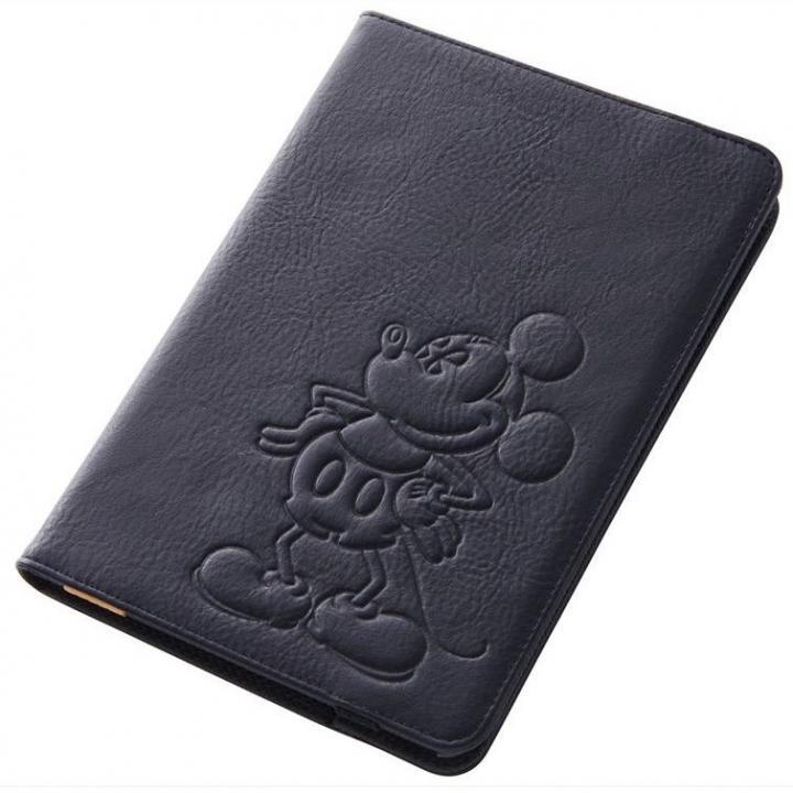 ディズニー iPad mini/2/3用 レザージャケット/ミッキー