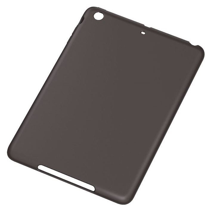 iPad mini/2/3用 ソフトジャケット/ブラック_0