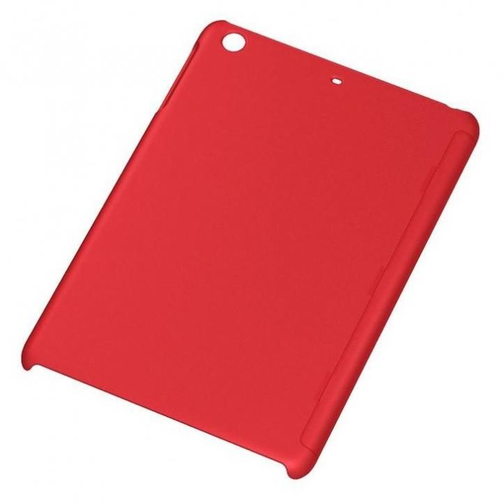 iPad mini/2/3用 ラバーコーティング・シェル/マットレッド_0