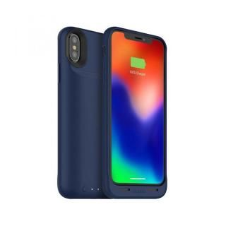 iPhone X ケース mophie juice pack air バッテリー内蔵型ケース ブルー iPhone X