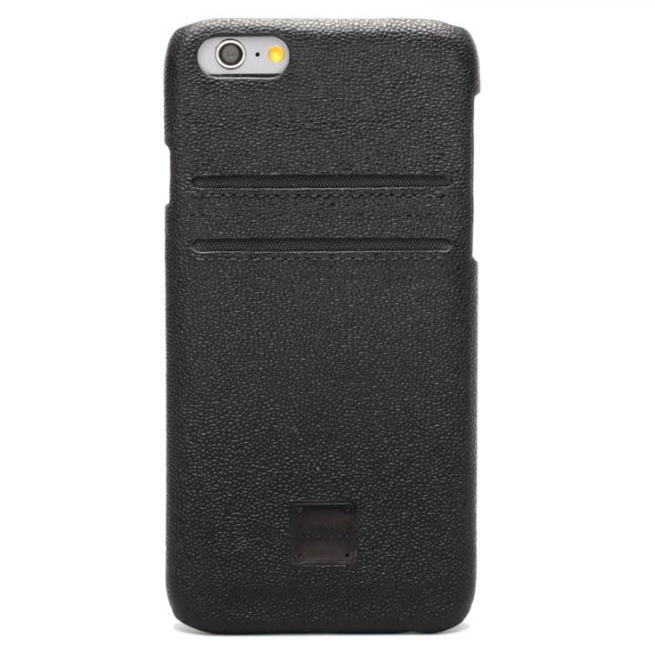 [磁気遮断カード不要]ICカード対応 インテリジェンスケース ブラック iPhone 6