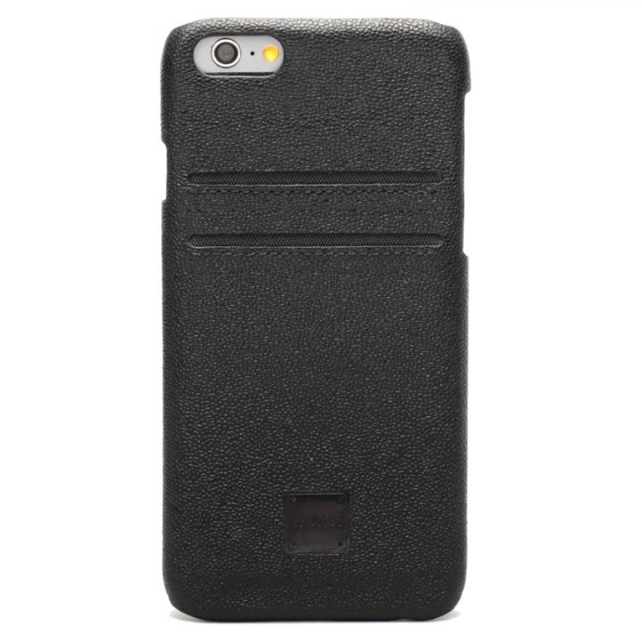 【iPhone6ケース】[磁気遮断カード不要]ICカード対応 インテリジェンスケース ブラック iPhone 6_0
