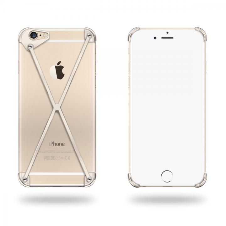 端末の美しさを活かす RADIUS case ゴールド iPhone 6 Plus