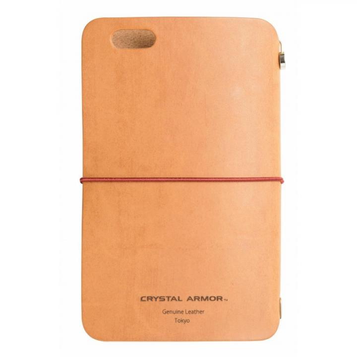 【iPhone6s/6ケース】システム手帳型スマートフォンケース SYSTEM キャメルブラウン iPhone 6s/6_0