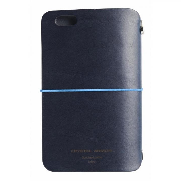 【iPhone6s/6ケース】システム手帳型スマートフォンケース SYSTEM ネイビー iPhone 6s/6_0