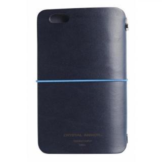 システム手帳型スマートフォンケース SYSTEM ネイビー iPhone 6s/6