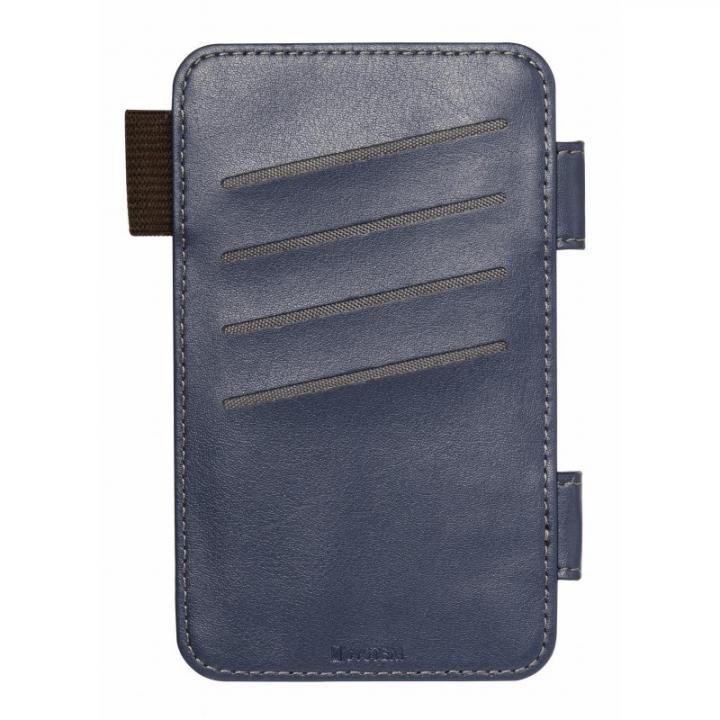 iPhone6s/6 SYSTEM専用オプション カードポケット ネイビー_0