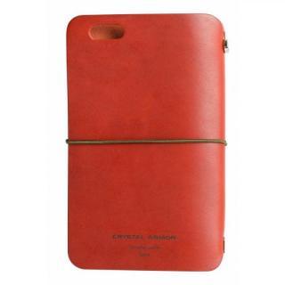 システム手帳型スマートフォンケース SYSTEM レッド iPhone 6s/6
