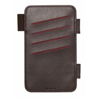 【iPhone6 ケース】SYSTEM専用オプション カードポケット ダークブラウン