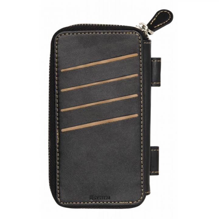 iPhone6s/6 ケース SYSTEM専用オプション 小銭入れ ブラック_0
