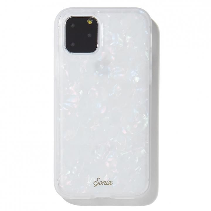 iPhone 11 Pro ケース Sonix(ソニックス) クリアデザインケース Pearl Tort iPhone 11 Pro【3月上旬】_0