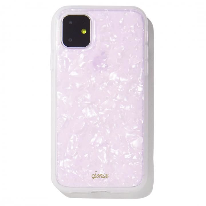 iPhone 11 ケース Sonix(ソニックス) クリアデザインケース Pink Pearl Tort iPhone 11_0