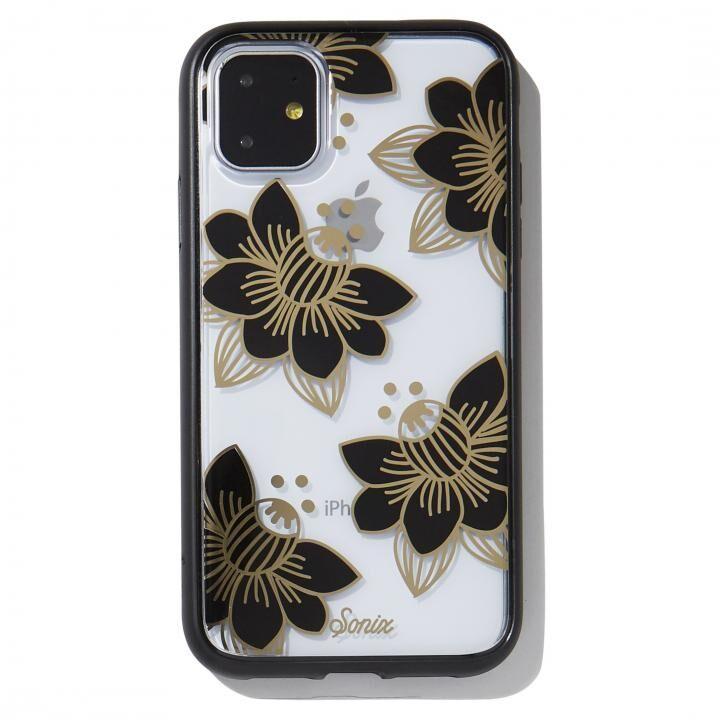 iPhone 11 ケース Sonix(ソニックス) クリアデザインケース Desert Lily (Black) iPhone 11【8月下旬】_0